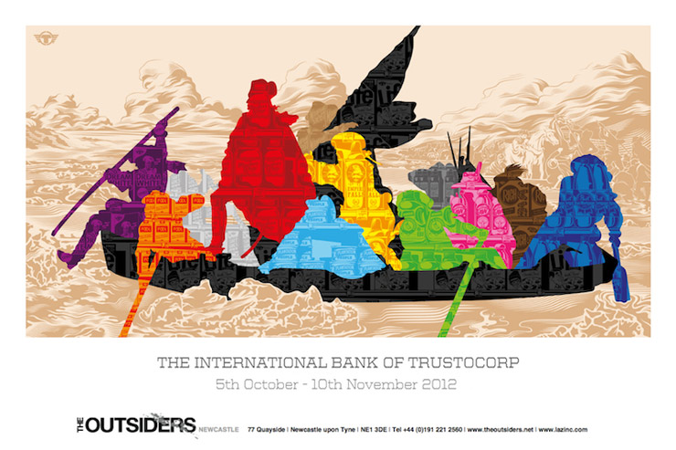 The Outsiders Gallery Presents: TrustoCorp