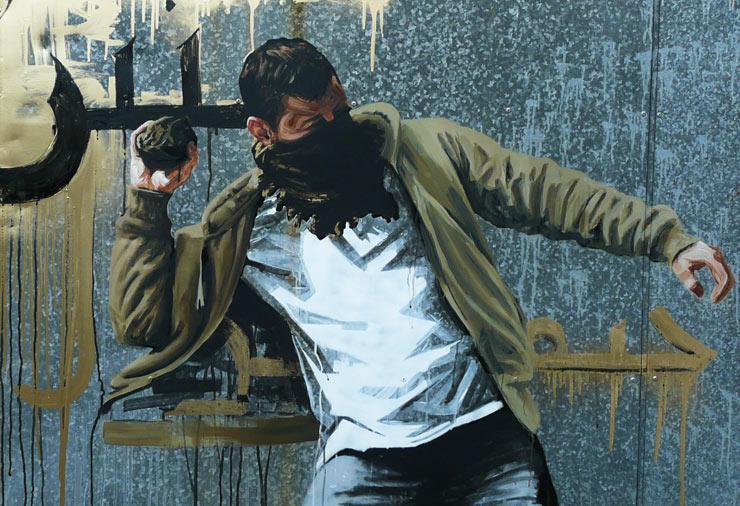 David and Goliath : Fintan Switzer Paints Arab Spring