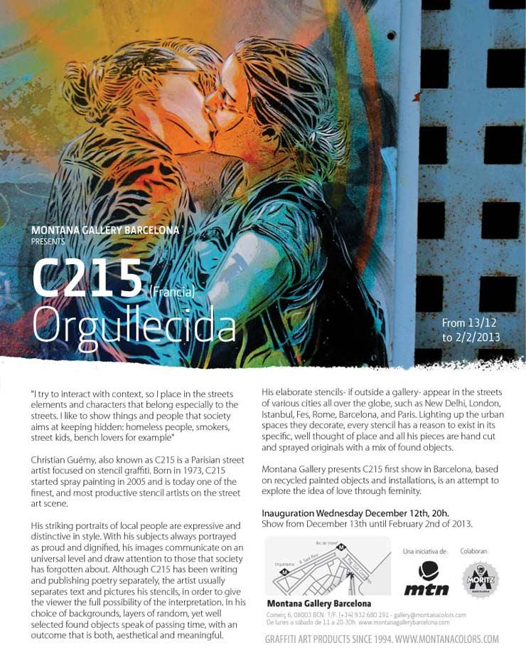 Montana Gallery Presents: C215