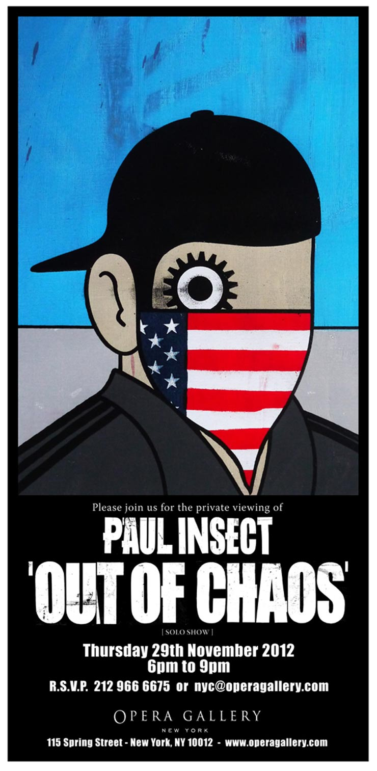 Opera Gallery Presents: Paul Insect