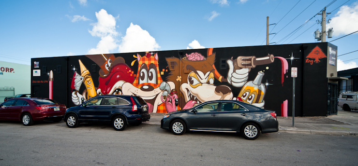 Miami Recap '12 : Brand New Art in the Streets