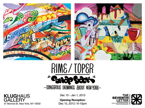 Klughaus Gallery Presents: Rime & Toper