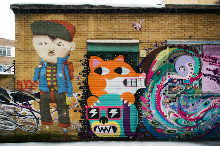 London Calling : Fresh Art from the Streets