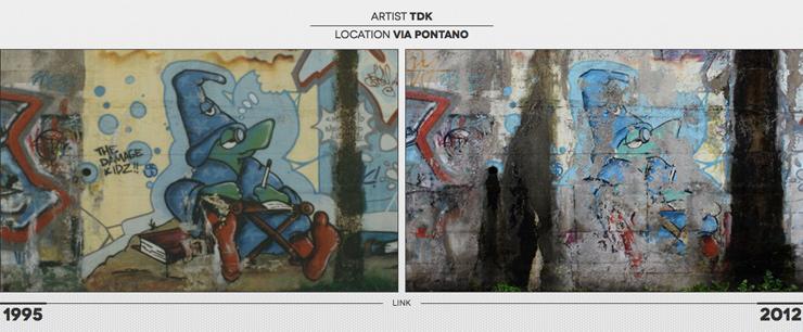 Blog Spotting: Old Walls in Milan Italy