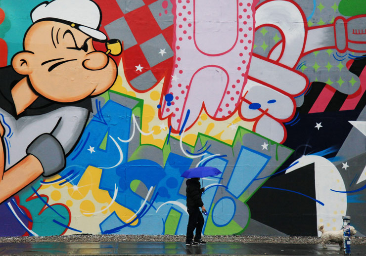 Houston Wall Art talking with crash about popeye and the houston wall : brooklyn