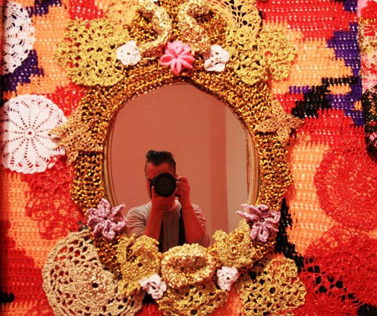 For Crochet Street Artist OLEK
