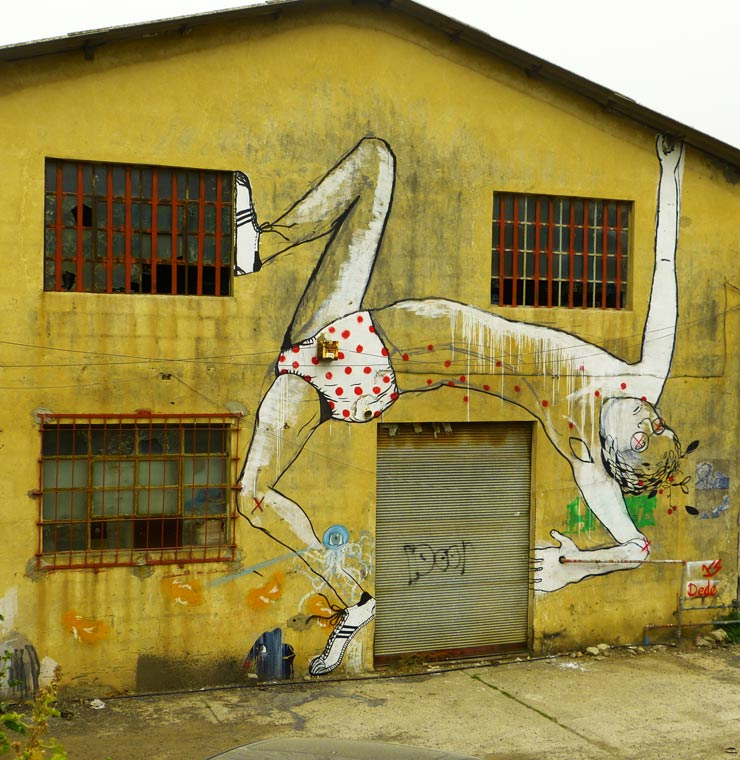 Tel Aviv Street Artist Dede Talks About His City and His Work ...