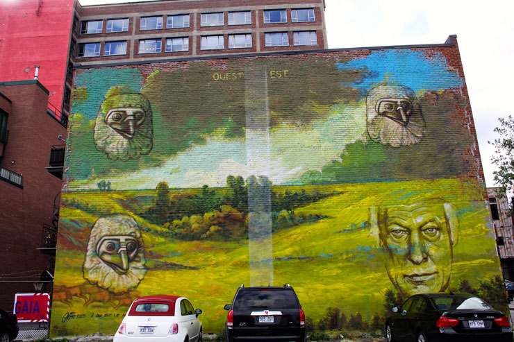 Mural festival in montreal stakes a claim for street art for Air climatise mural montreal