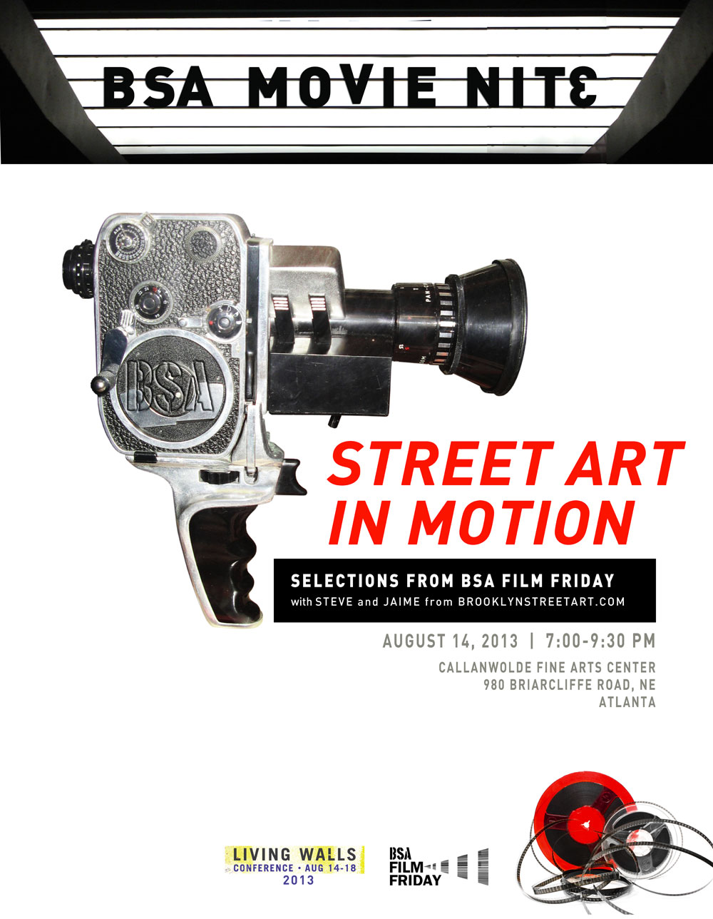 BSA-Movie-Nite-Motion-1000-Living-Walls-2013-Poster-080313