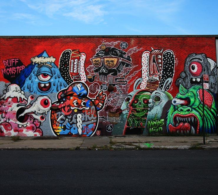 brooklyn-street-art-buff-monster-sheryo-yok-tristan-eaton-nychos-lamoursupreme-jaime-rojo-08-25-13-web