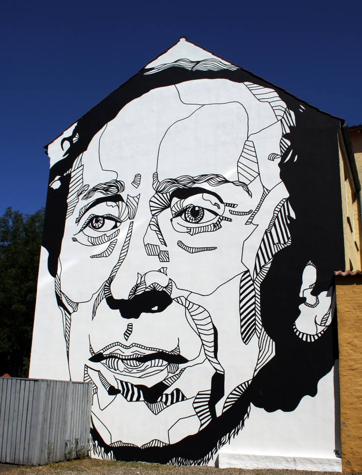Don John Does Hans Christian Andersen in Denmark : Brooklyn Street Art