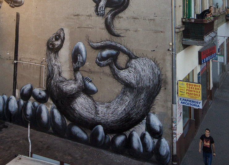 Urban Forms 2013: ROA Goes First in Poland
