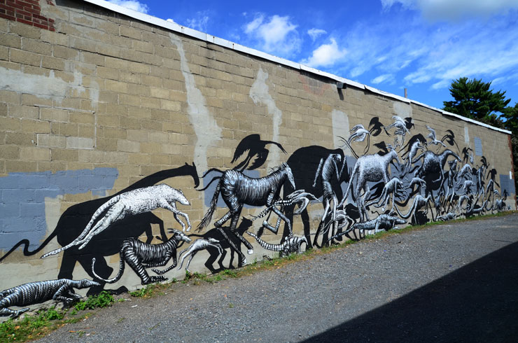 Phlegm Flees With a Marauding Animal Exodus in Albany