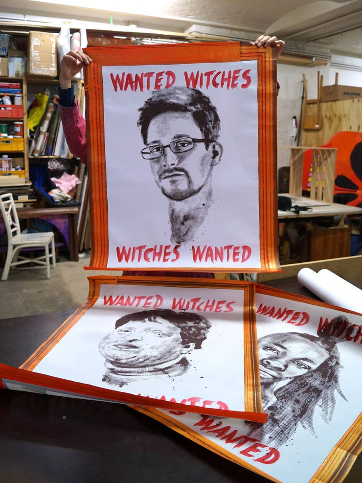 brooklyn-street-art-various-gould-edward-snowden-Ameneh-Bahrami-Le1f-witches-wanted-berlin-web-1