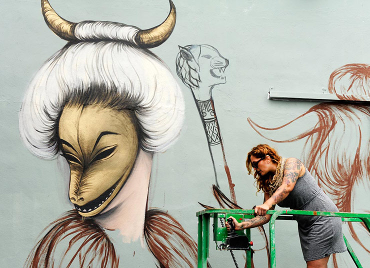Miami's WOMEN On The Walls, Art At Its Best