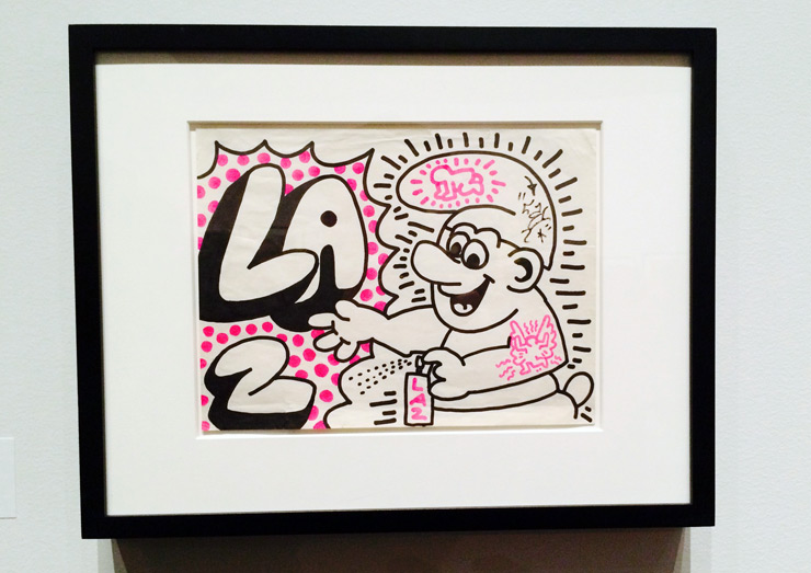Brooklyn-Street-Art-Haring-LAII-Martin-Wong-Collection-copyright-MCNY-Feb2014