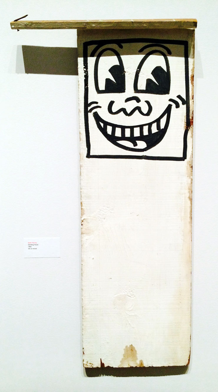 Brooklyn-Street-Art-Haring-Smiling-Face-1982-Martin-Wong-Collection-copyright-MCNY-Feb2014