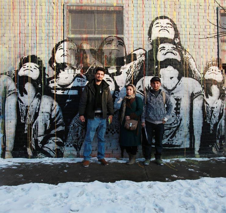 brooklyn-street-art-Abul-Qasem-FOUSHANJI-Ommolbanin-HASSANI-Sayed-Mohebullah-RAMIN-NAQSHBANDI-jaime-rojo-02-10-14-web-1