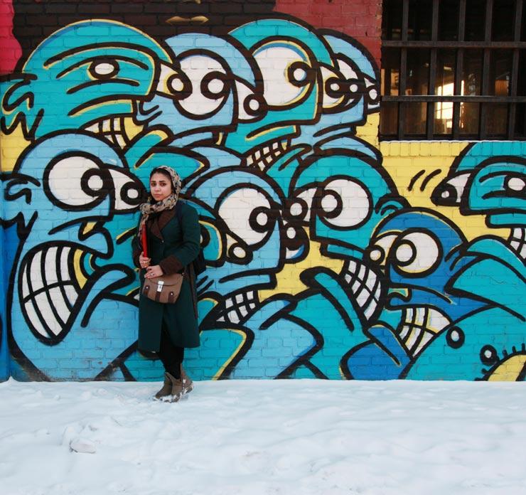 brooklyn-street-art-Abul-Qasem-FOUSHANJI-Ommolbanin-HASSANI-Sayed-Mohebullah-RAMIN-NAQSHBANDI-jaime-rojo-02-10-14-web-2