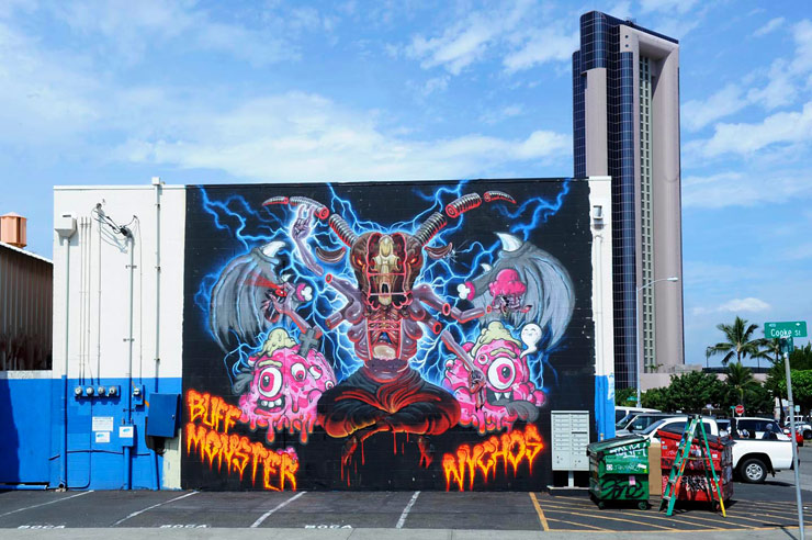 brooklyn-street-art-martha-Cooper-buff-monster-nychos-pow-wow-2014-web