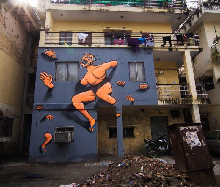 brooklyn-street-art-Harsh_Raman-Akshat-Nauriyal-street-art-india-2014-web