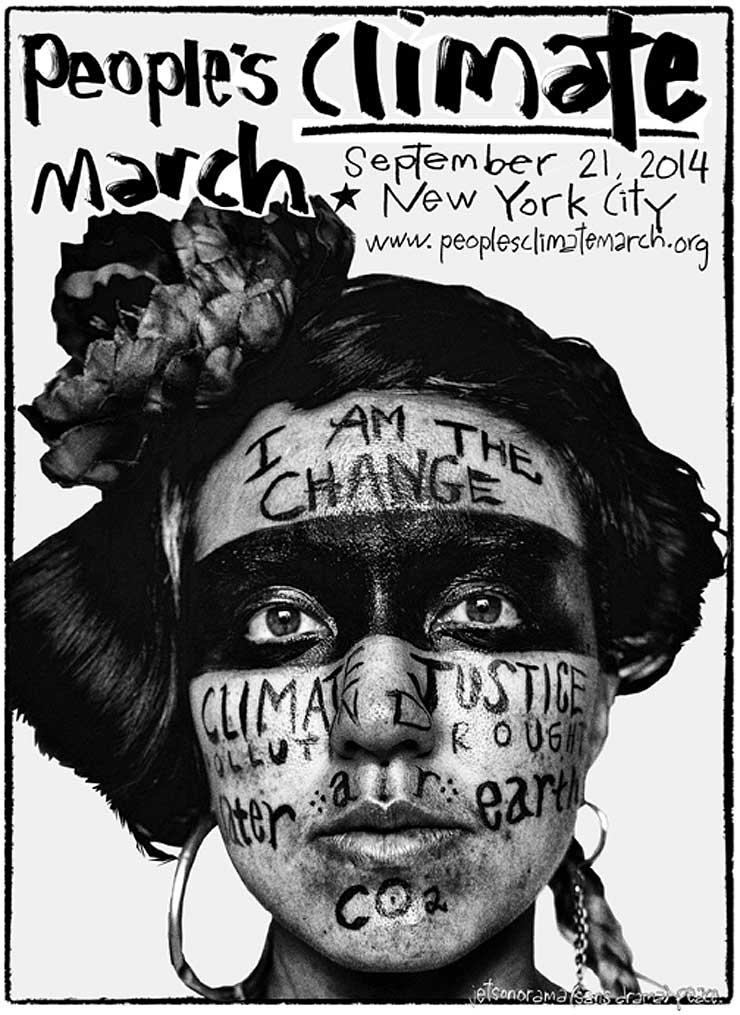 Brooklyn-Street-Art-Monica-Canilao-and-Jetsonorama_Nicholas-Lampert-of-Justseeds-Climate-March-poster2014