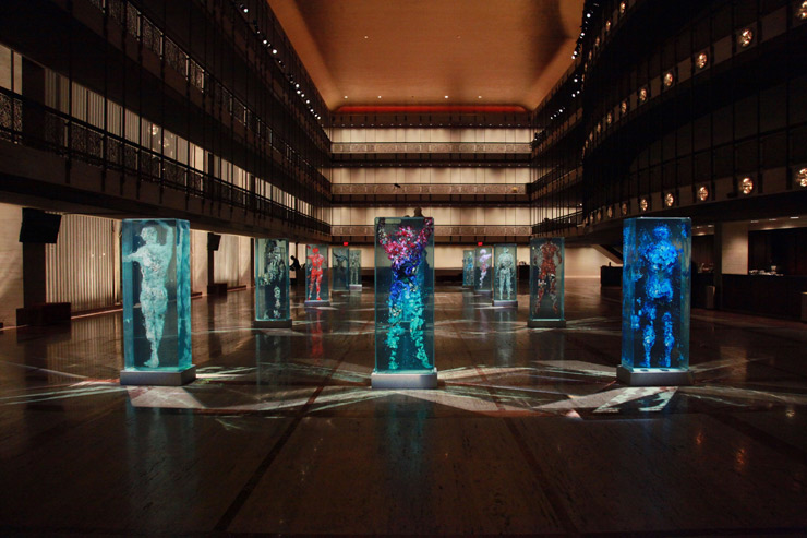 Dustin Yellin Lincoln Center