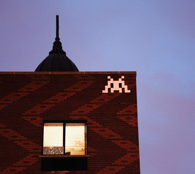 Invader Comes To New York In Peace