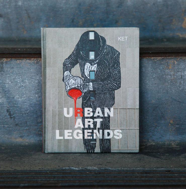 "Bien-aimé Alan KET Brings You ""Urban Art Legends"" : Brooklyn Street Art KS46"
