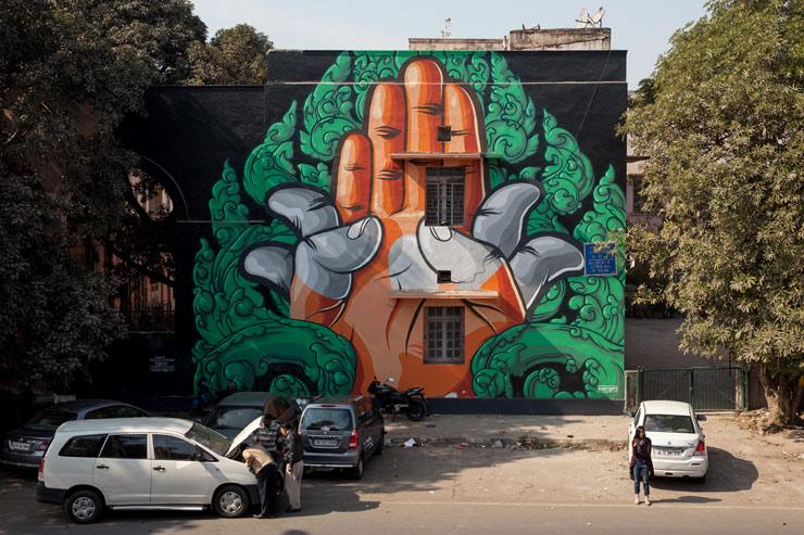 St Art India 2016 Niels Shoe Meulman Reko Rennie Anpu
