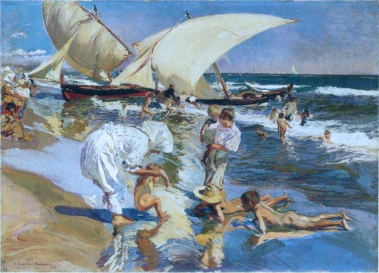brooklyn-street-art-Sorolla-Playa-de-Valencia-a-la-Luz-de-la-Mañana-1908-web