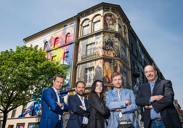 Brooklyn-Street-Art-740-MARKUS-TERBOVEN-(GEWOBAG),-THOMAS-WILLEMEIT-(GRAFT),-YASHA-YOUNG-(URBAN-NATION),-TIM-RENNER-(UNDERSECRETARY-OF-STATE-FOR-CULTURAL-AFFAIRS)-HENDRIK-JELLEMA-(BERLINER-LEBEN)