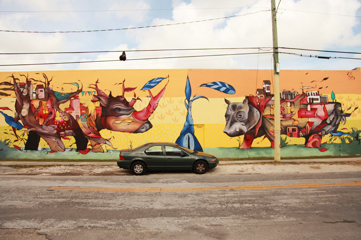 "New ""Uninhibited"" Art Scene in Allapattah, Miami : Brooklyn Street Art"