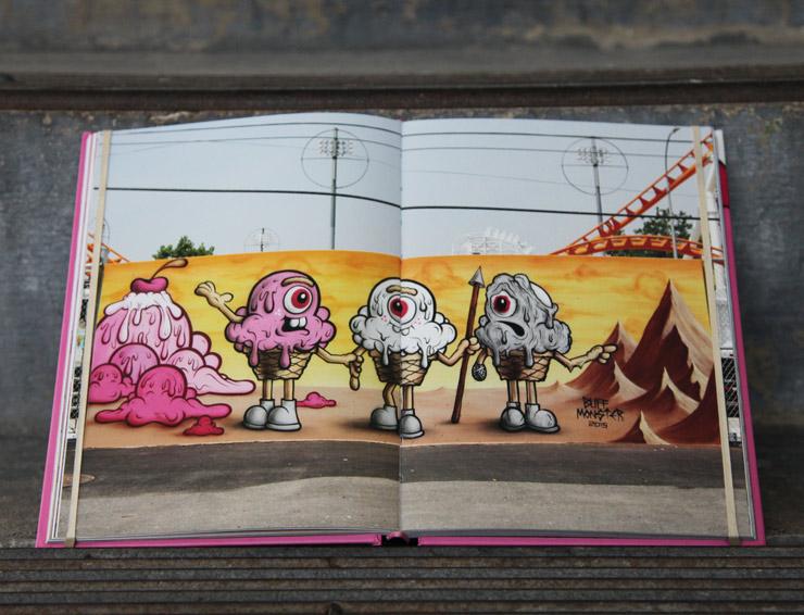 Buff Monster Says Stay Melty Brooklyn Street Art