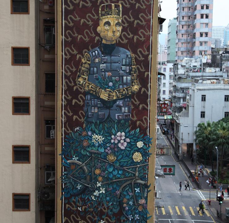 Hong Kong Art: HONG KONG Re-cap, HKwalls 2017 Makes New Paths For Urban