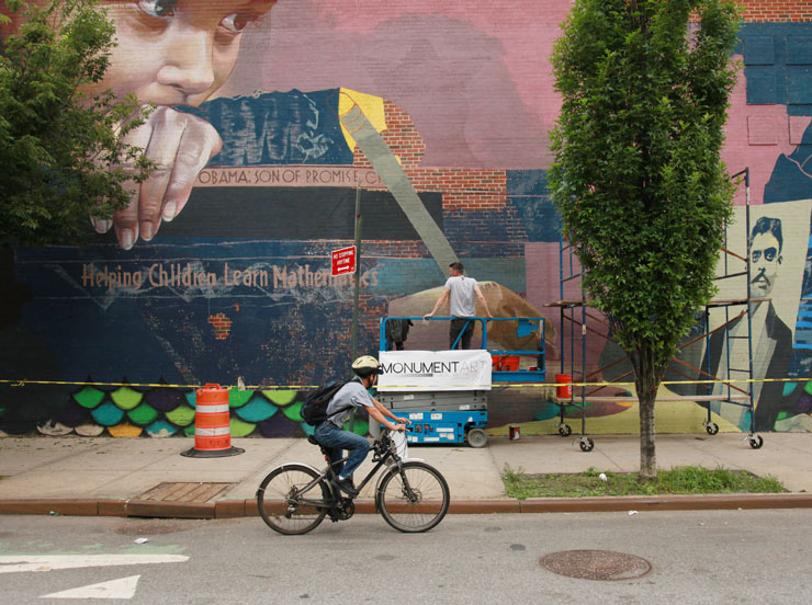 Exploring From Coney To Harlem: Fresh Art on The Streets This Summer in NYC