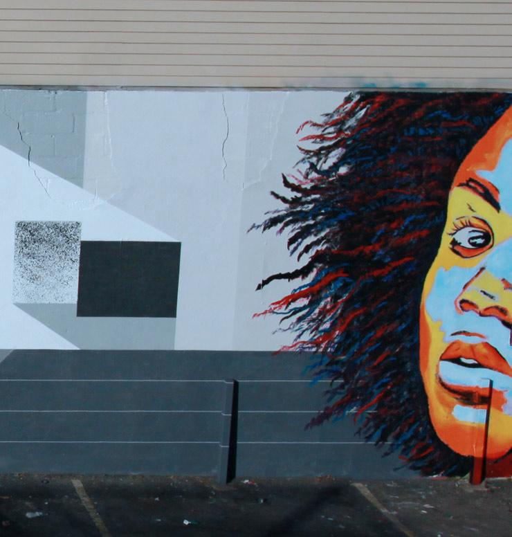 St Mural By The Blind Sighted In Brooklyn Rubin John - Blind artist
