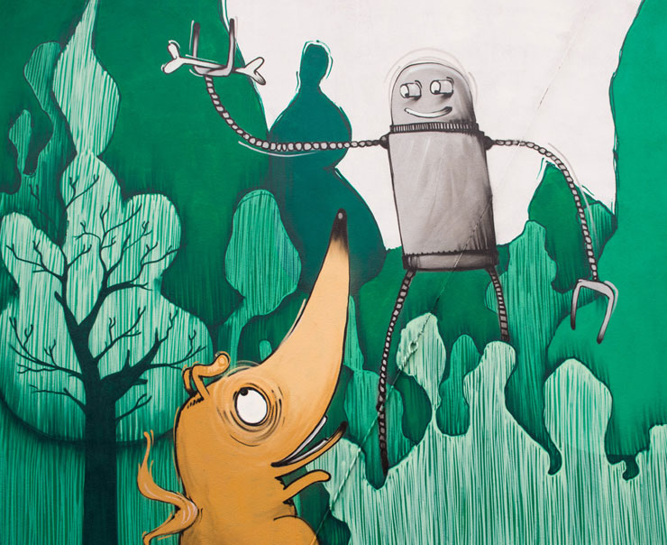 Mr. Fijodor With Love, Dragons, Robots From Torino