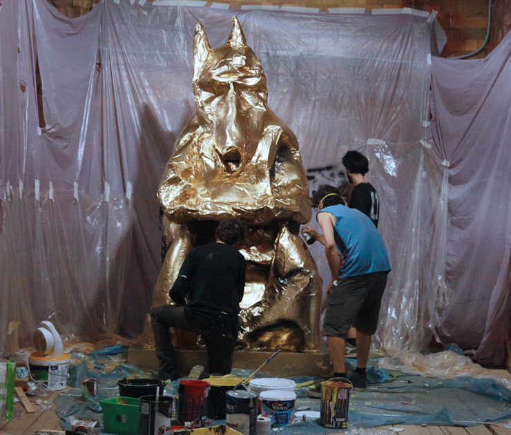 """Canemorto and the Master """"Txakurra"""" Rise in Moscow For Artmossphere"""
