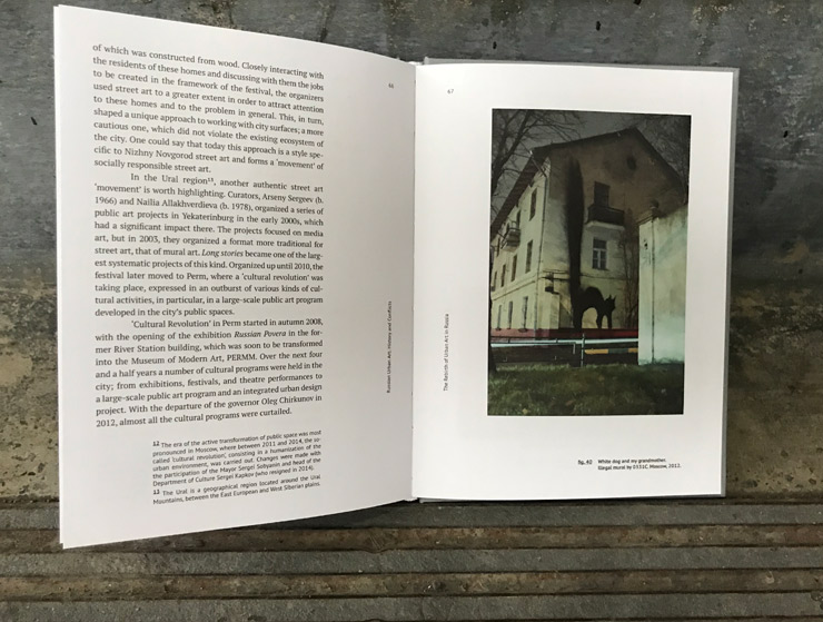 "Igor Ponosov Enlightens with ""Russian Urban Art: History and"