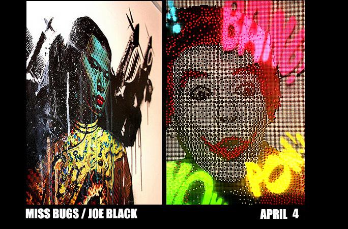 Miss Bugs and Joe Black at Brooklynite Tonite