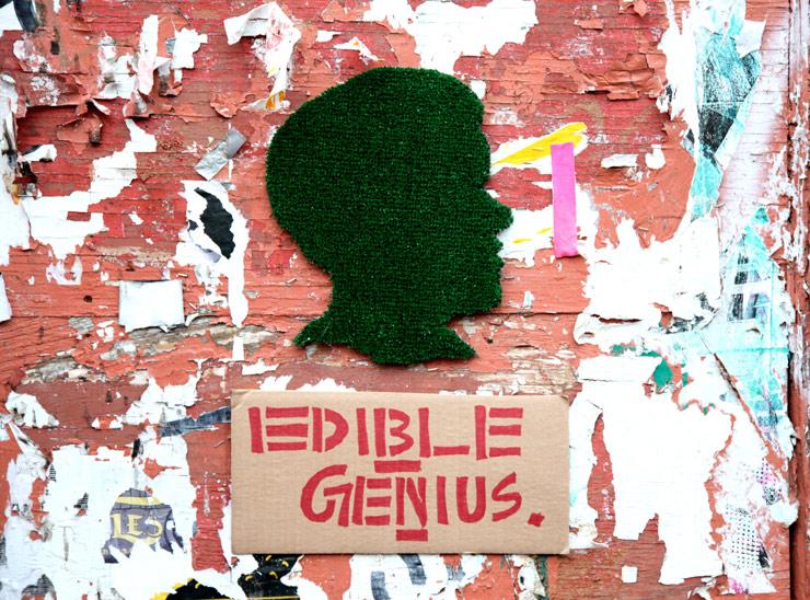 Street Artist Edible Genius : New Topiaries On the Block