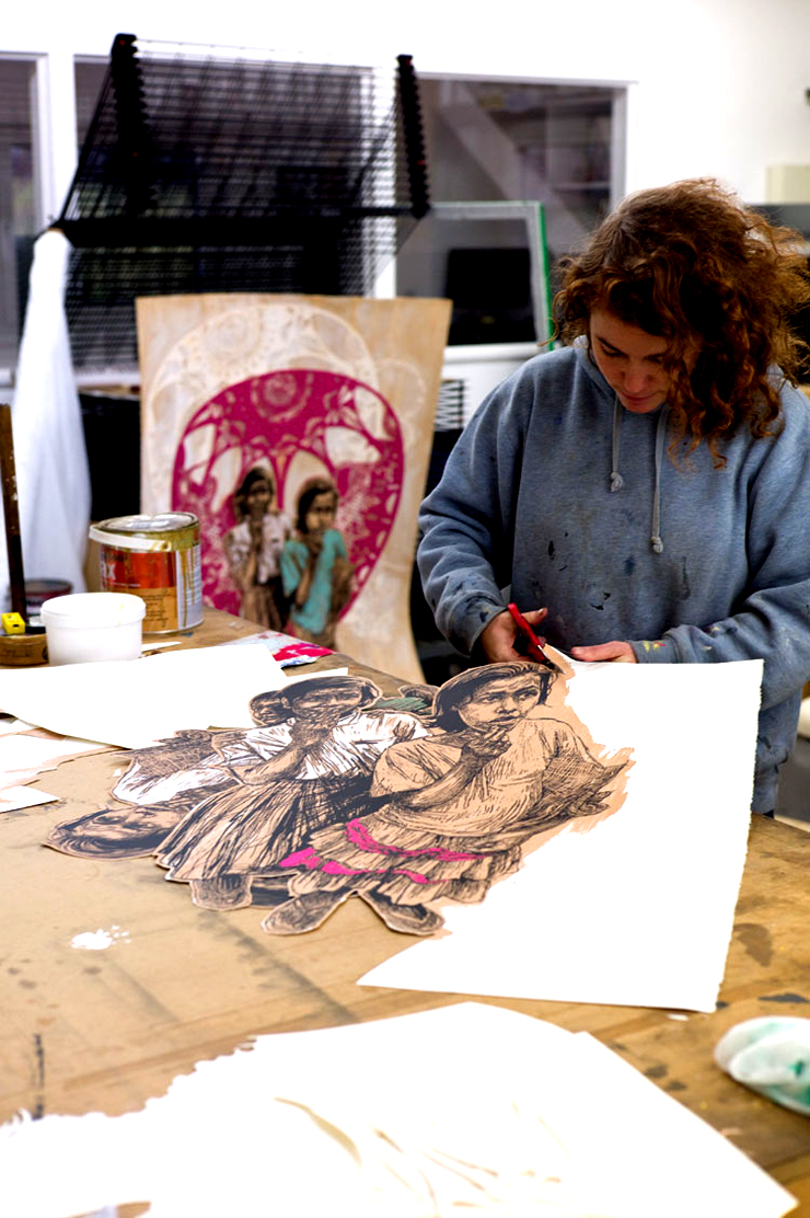 "Black Rat ""Print Making Today"", New Swoon Print and ROA Installation"