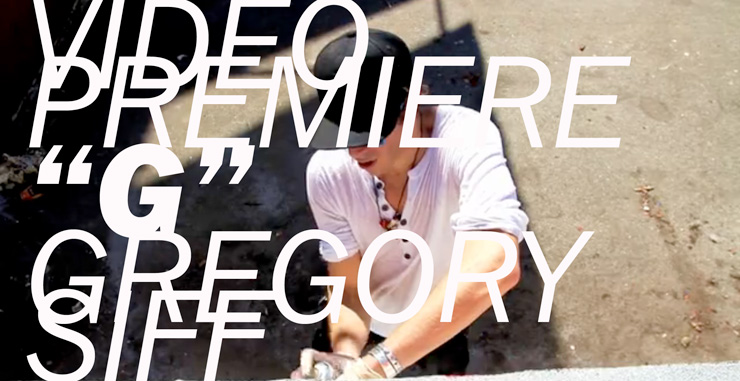 """Gregory Siff – VIDEO PREMIERE – """"G"""" Shot/Edited by Carlos Gonzalez"""