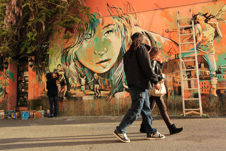 Alice Pasquini Photographed by Jessica Stewart