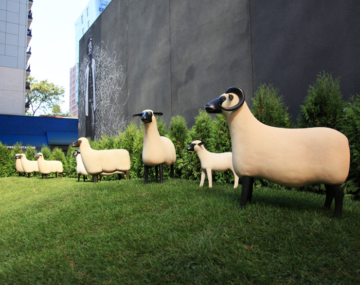 Manhattan Sheep Find Greener Grass in Chelsea