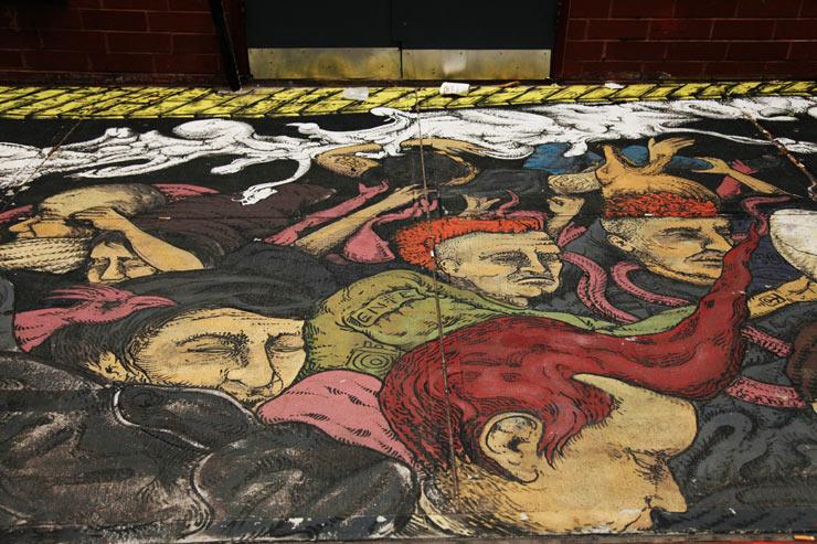 """""""Adios Amigos"""" – CBGB Memorial with NANTU in a Famous Back Alley"""