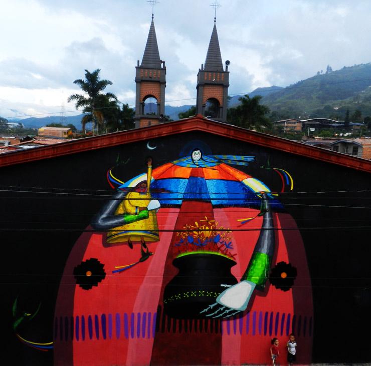 """Spaik in Medellin, Colombia for """"Pictopia"""""""