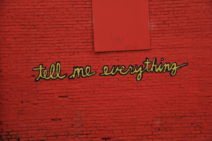 Aerosol Texting: The Power Of Words on City Walls