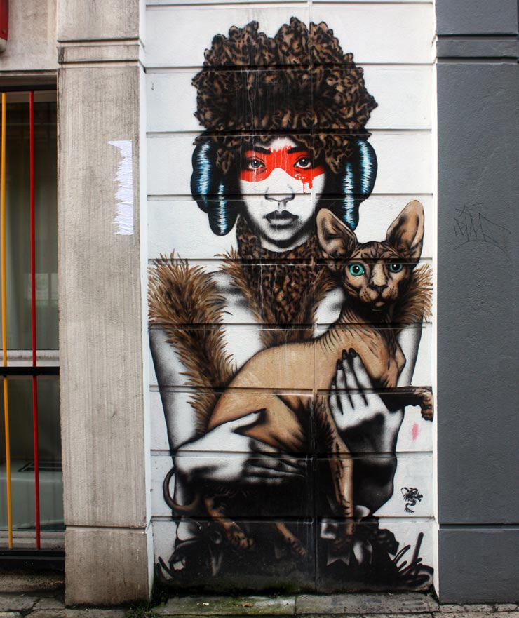 Eye on London Street Art : Spencer Elzey in Europe
